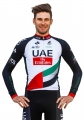 UAE (#1701L1) Cycling Long Sleeve Jersey & BIB Long Pants kit Size S/M/L/XL/XXL/XXXL Price $38