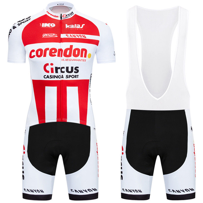 180923F Cycling Short Sleeve Jersey & BIB Shorts kit Size S/M/L/XL/XXL/XXXL