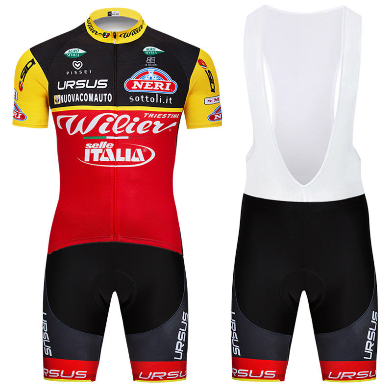 180925Q Cycling Short Sleeve Jersey & BIB Shorts kit Size S/M/L/XL/XXL/XXXL
