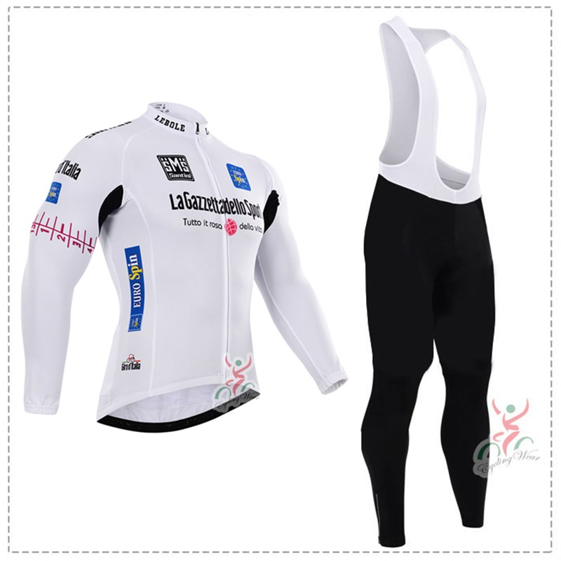 181016Y Cycling Long Sleeve Jersey & BIB Long Pants kit Size S/M/L/XL/XXL/XXXL