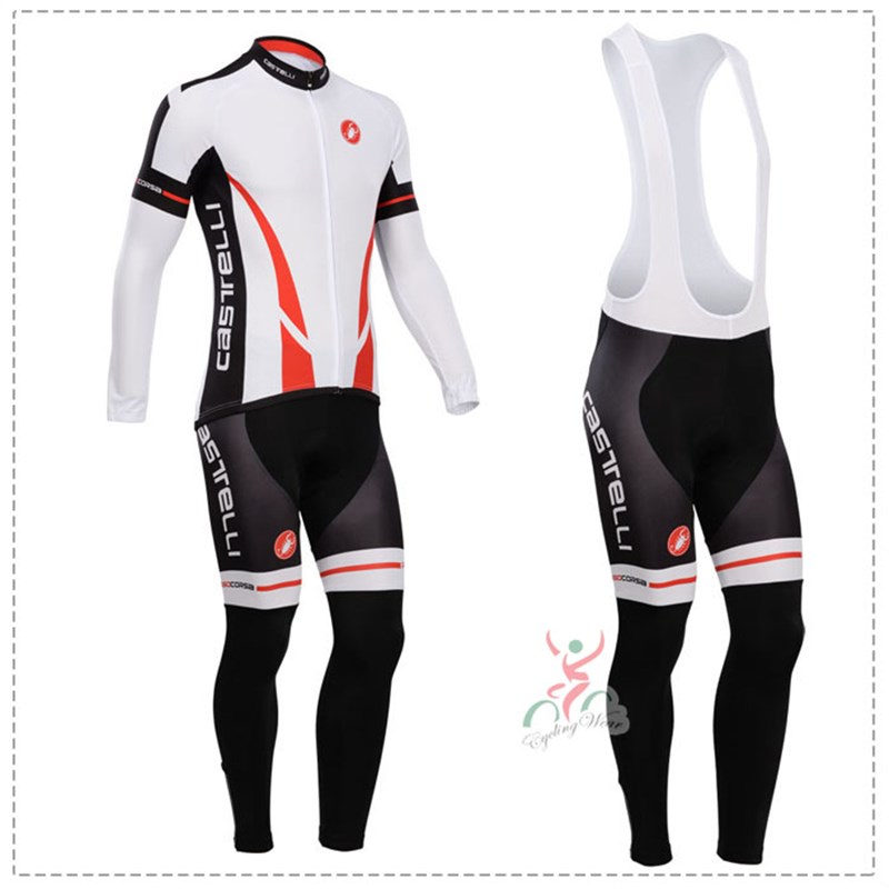 181015R Cycling Long Sleeve Jersey & BIB Long Pants kit Size S/M/L/XL/XXL/XXXL
