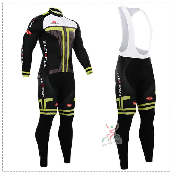 181015S Cycling Long Sleeve Jersey & BIB Long Pants kit Size S/M/L/XL/XXL/XXXL