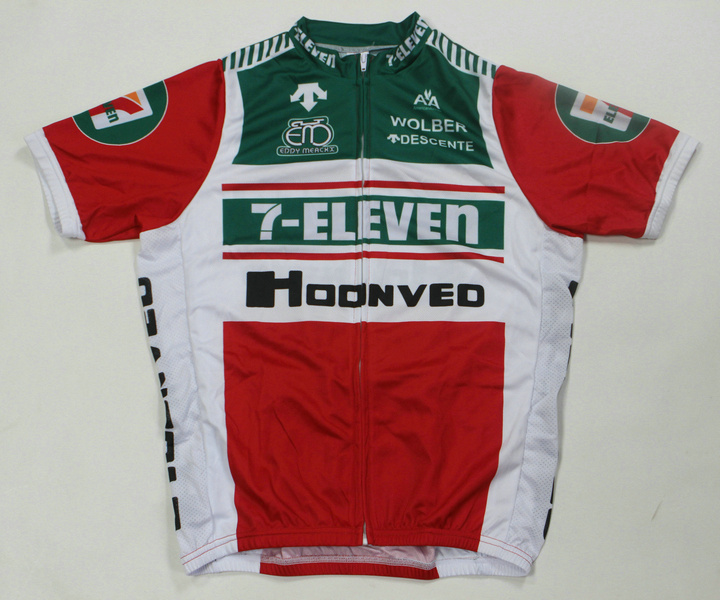 7 ELEVEN (#1501S1) Cycling Short Sleeve Jersey Only Size S/M/L/XL/XXL/XXXL