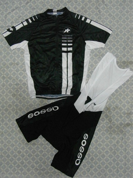 ASSOS (#1101S1) Cycling Short Sleeve Jersey & BIB Shorts kit Size S/M/L/XL/XXL/XXXL