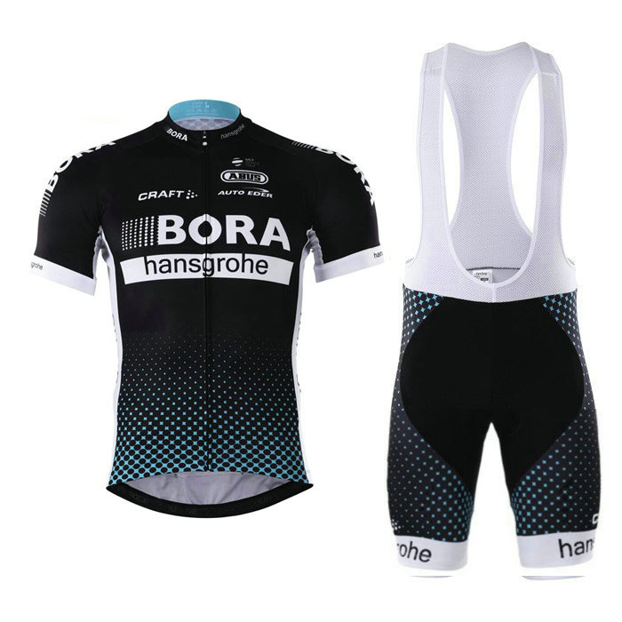 BORA (#1702S1) Cycling Short Sleeve Jersey & BIB Shorts kit Size S/M/L/XL/XXL/XXXL