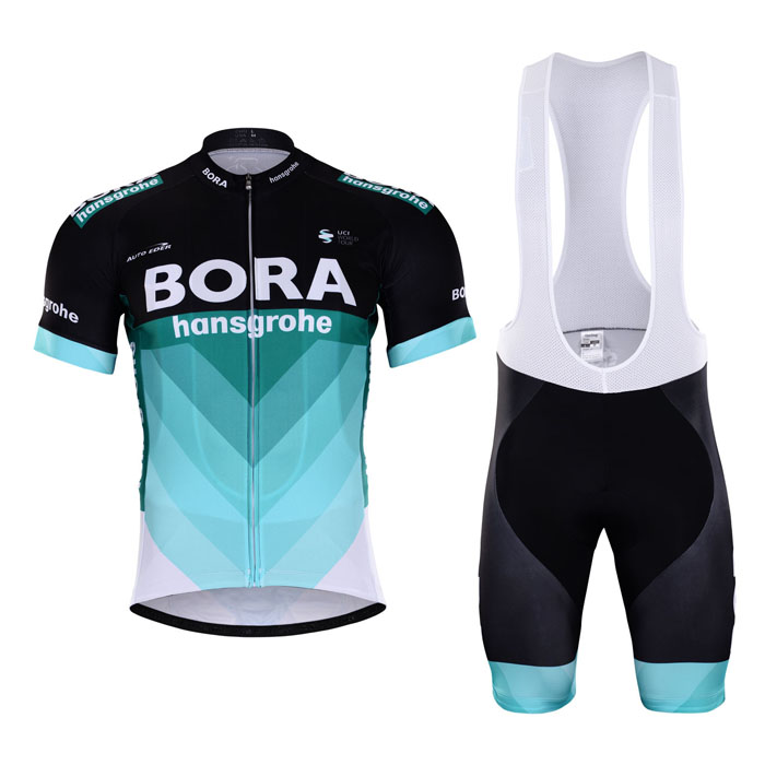 BORA (#1801S1) Cycling Short Sleeve Jersey & BIB Shorts kit Size S/M/L/XL/XXL/XXXL