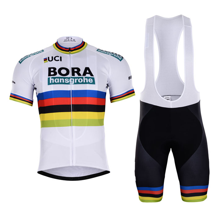 BORA (#1802S1) Cycling Short Sleeve Jersey & BIB Shorts kit Size S/M/L/XL/XXL/XXXL