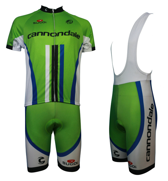 Cannondale (#1401S1) Cycling Short Sleeve Jersey & BIB Shorts kit Size S/M/L/XL/XXL/XXXL