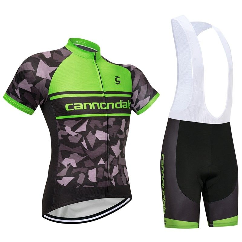 Cannondale (#1801S1) Cycling Short Sleeve Jersey & BIB Shorts kit Size S/M/L/XL/XXL/XXXL