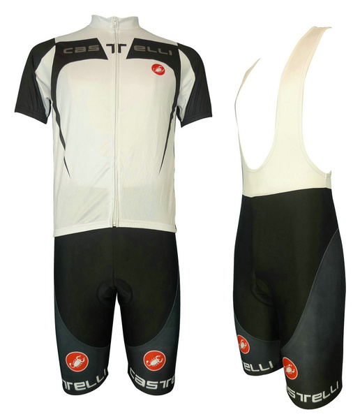 CASTELLI (#1309S1) Cycling Short Sleeve Jersey & BIB Shorts kit Size S/M/L/XL/XXL/XXXL