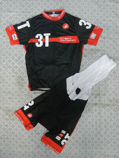 CASTELLI-3T (#1112S1) Cycling Short Sleeve Jersey & BIB Shorts kit Size S/M/L/XL/XXL/XXXL