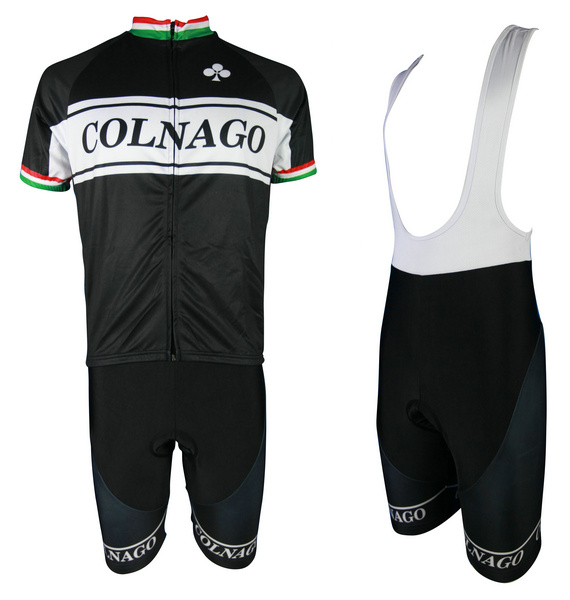 COLNAGO (#1401S1) Cycling Short Sleeve Jersey & BIB Shorts kit Size S/M/L/XL/XXL/XXXL