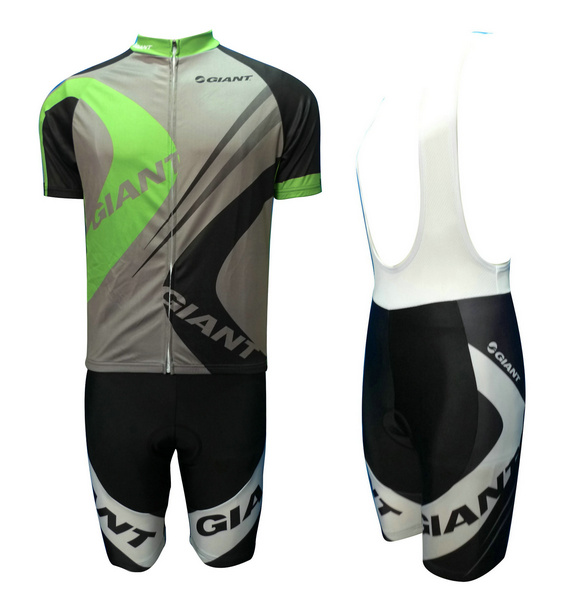 GIANT (#1201S1) Cycling Short Sleeve Jersey & BIB Shorts kit Size S/M/L/XL/XXL/XXXL