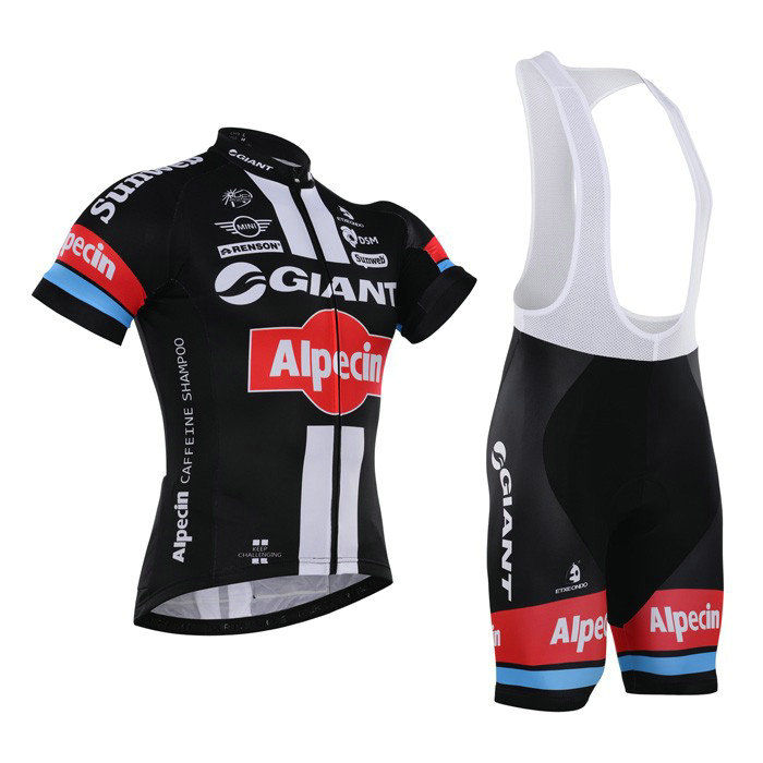 GIANT (#1601S1) Cycling Short Sleeve Jersey & BIB Shorts kit Size S/M/L/XL/XXL/XXXL