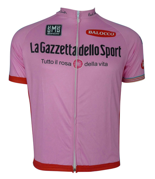 Giro d'Italia (#130PS1) Cycling Short Sleeve Pink Jersey Only